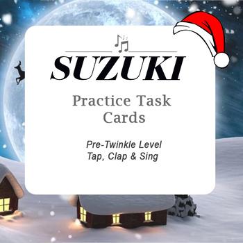 Christmas Suzuki Violin Pre-Twinkle Game