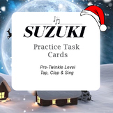 Christmas Suzuki Violin Pre-Twinkle Game