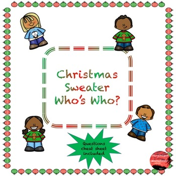 Christmas Sweater Who's Who