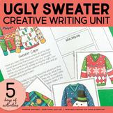 Christmas Writing | Ugly Christmas Sweaters | Holiday Writing Activities