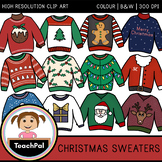 Christmas Sweaters Clip Art