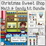 Christmas Sweet Shop Math and Candy Bag Packaging Set