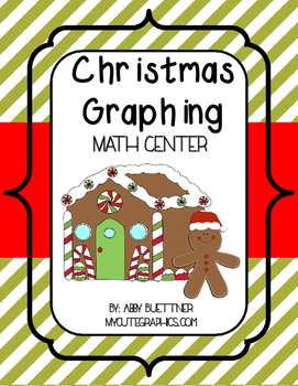 Christmas Sweet Treat Graphing Math Center