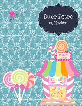 Christmas Sweet Wish - English and Spanish