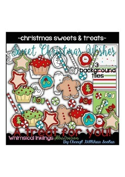 Christmas Sweets and Treats Clipart Collection