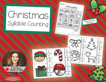 Christmas Syllable Counting