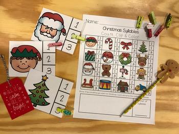 Christmas Syllable Counting