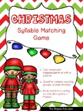 Christmas Syllable Matching Game