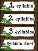 Christmas Syllable Sort
