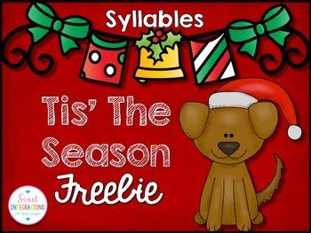 CHRISTMAS SYLLABLES FREE