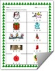 Christmas-Themed Syllables Count Worksheet