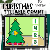 Christmas Syllables Seesaw Activity