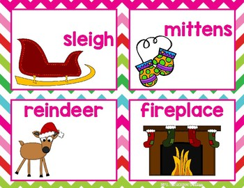 Christmas Syllables Unit