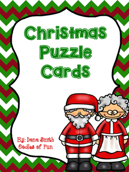 Christmas Symbol Puzzle Cards
