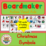 Christmas Symbols - Boardmaker Visual Aids for Autism SPED