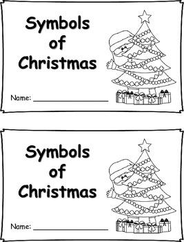 Christmas Symbols Book {FREEBIE}