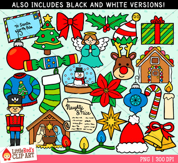 Christmas Symbols Clip Art