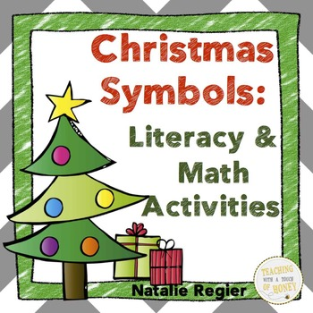 Christmas Symbols: Tiered Math and Literacy Activities
