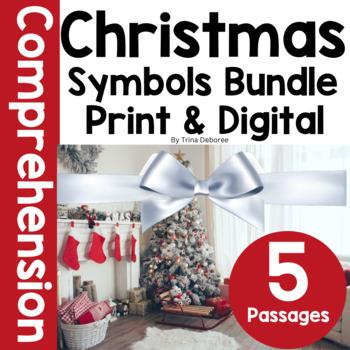 Christmas Activities: Christmas Symbols Nonfiction Close Read BUNDLE