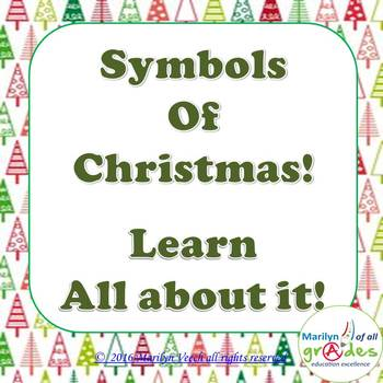 Christmas Symbols Research - Updated 2016