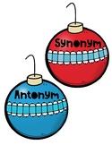 Christmas Synonym and Antonym Sort