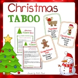 Christmas TABOO game + Slideshow + free envelope