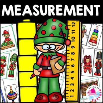 Math Center Christmas TOY FACTORY Measurement