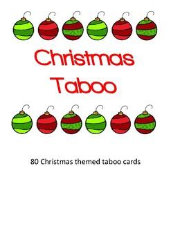 Christmas Taboo