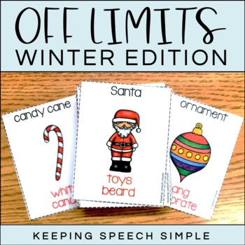 Off Limits - An Expressive Language Game Christmas Edition