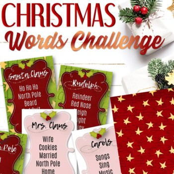 Christmas Taboo Card Game