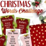 Christmas Taboo Card Game