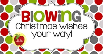 Christmas Tag | Blowing Christmas Wishes