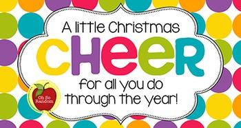 Christmas Tag | Christmas Cheer