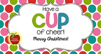 Christmas Tag | Cup of Cheer