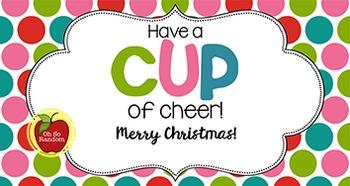 Christmas Tag | Cup of Cheer