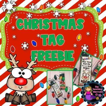 Christmas Tag Freebie
