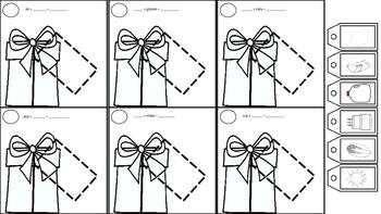 Christmas/Birthday Tag It: Multisyllabic Words & Phrases for Apraxia of Speech