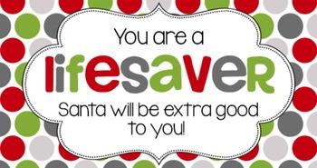 Christmas Tag | Lifesaver I