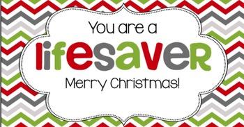 Christmas Tag | Lifesaver II