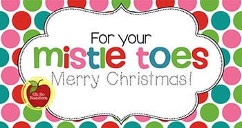 Christmas Tag | Mistle Toes