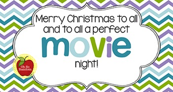 Christmas Tag | Movie Night