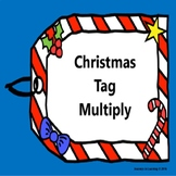 Christmas Tag Multiply-Task Cards