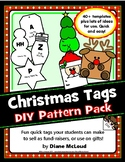 Christmas Gift Tag Templates—Quick DIY Holiday Craft