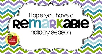 Christmas Tag   ReMARKable Holiday Season
