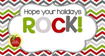 Christmas Tag | Rock
