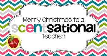 Christmas Tag | Scentsational Teacher
