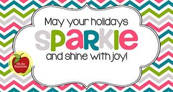 Christmas Tag | Sparkle & Shine