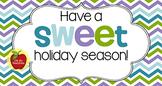 Christmas Tag   Sweet Holiday Season