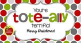 Christmas Tag   Tote-ally Terrific