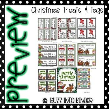Christmas Tags & Treats!